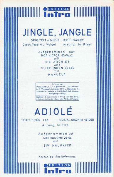 1969.3 Jingle, Jangle