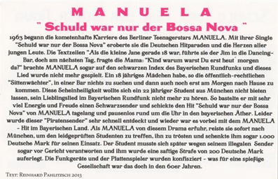 Schuld War Nur Der Bossa Nova Text
